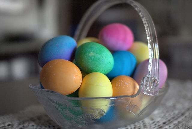 Recipes for using up your dyed Easter eggs