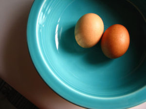 Two eggs can help you lose weight