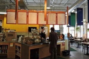Oryana's Lake Street Cafe has a wide, healthy variety to choose from.