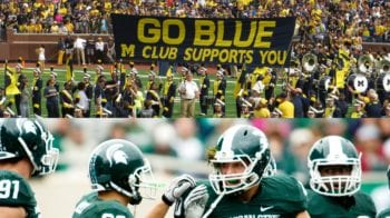 Michigan Wolverines Michigan State Spartans Healthy Tailgating Foods
