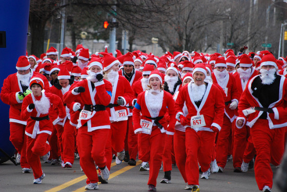 Mikidscan Work Out With Santa Claus A Healthier Michigan