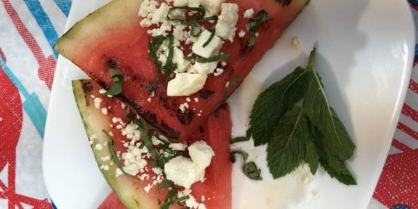 grilled watermelon pizza popsicles