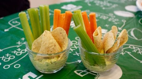 Tailgating Recipes |Skinny Buffalo Chicken Dip