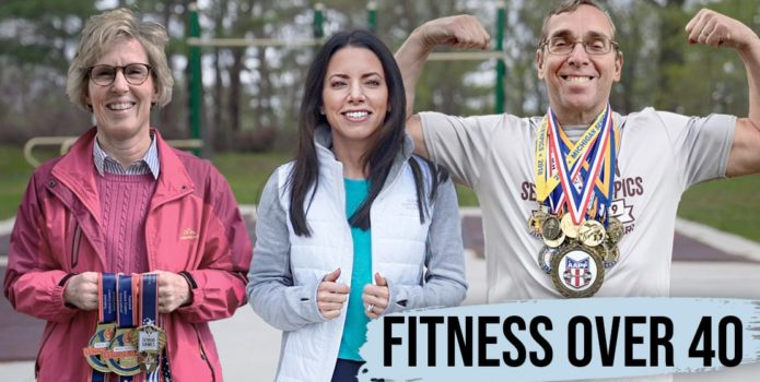 Fitness Over 40: Age Has No Limits guests are featured with host Ann Marie Wakula